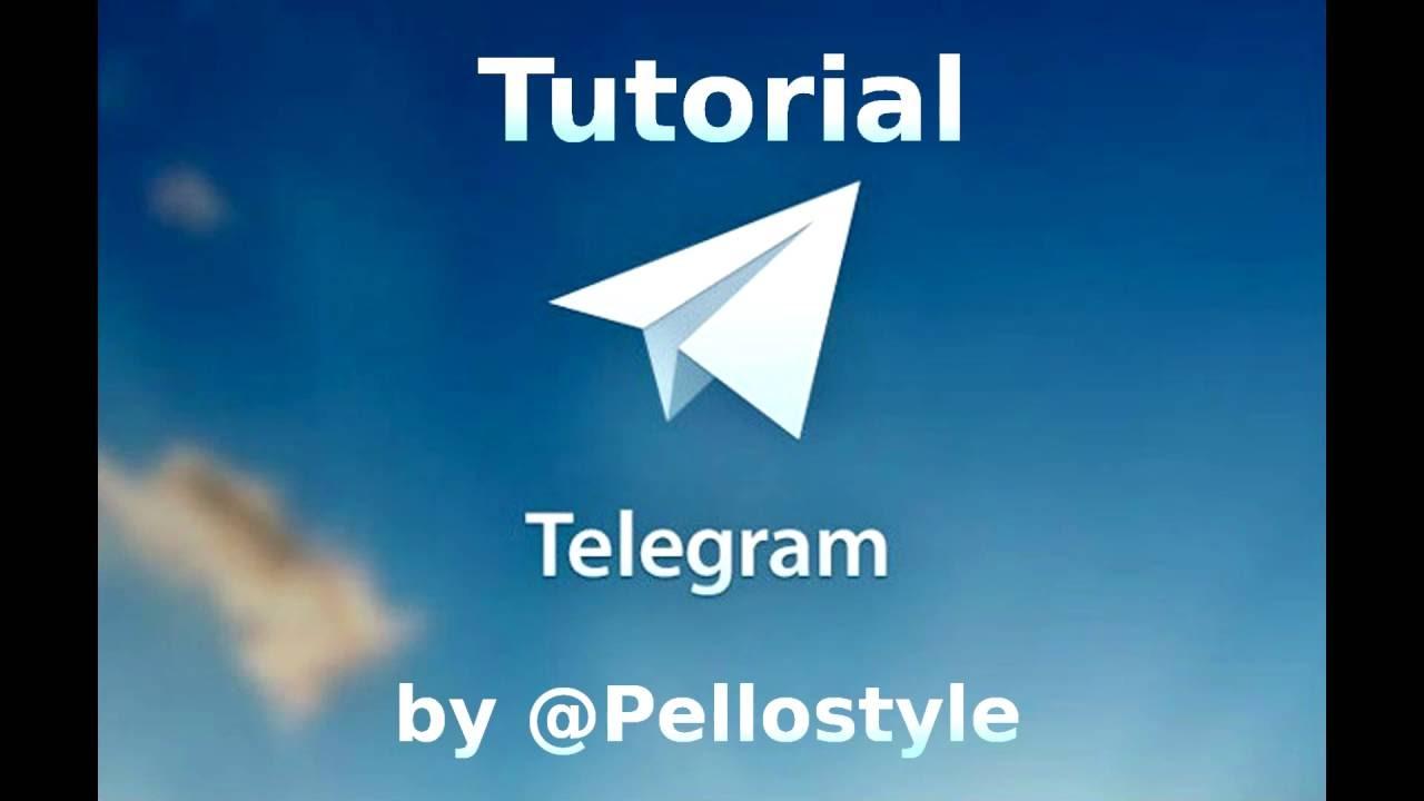 [Telegram tutorials] Group chats