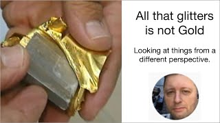 Series 1/Episode 2 - All that glitters is not Gold - Multi-Trillion Dollar fraud, Gold with Tungsten