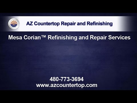 Mesa Corian Countertop Repair and Refinishing