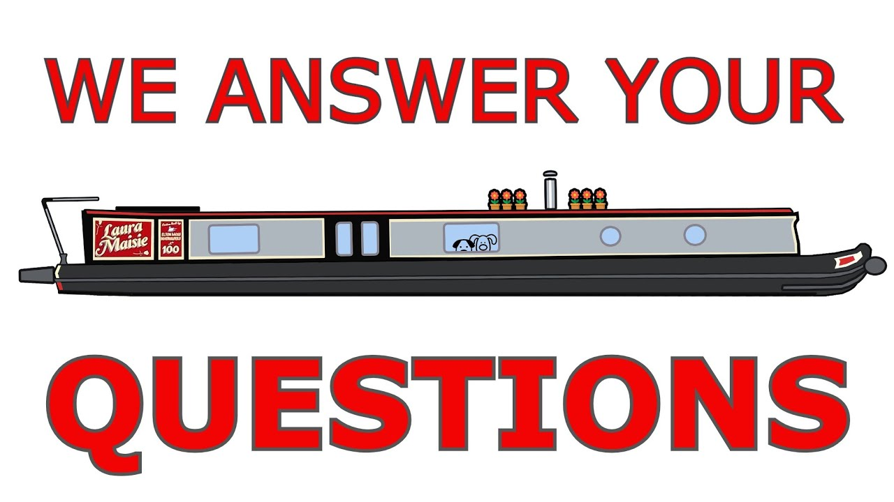 Your Questions Answered - With Real-Time BowCam Footage - Narrowboat Life. NOT A VLOG.