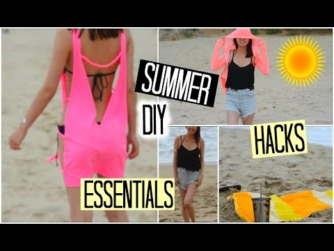 BEACH: DIY, Essentials, Hacks & Tips!