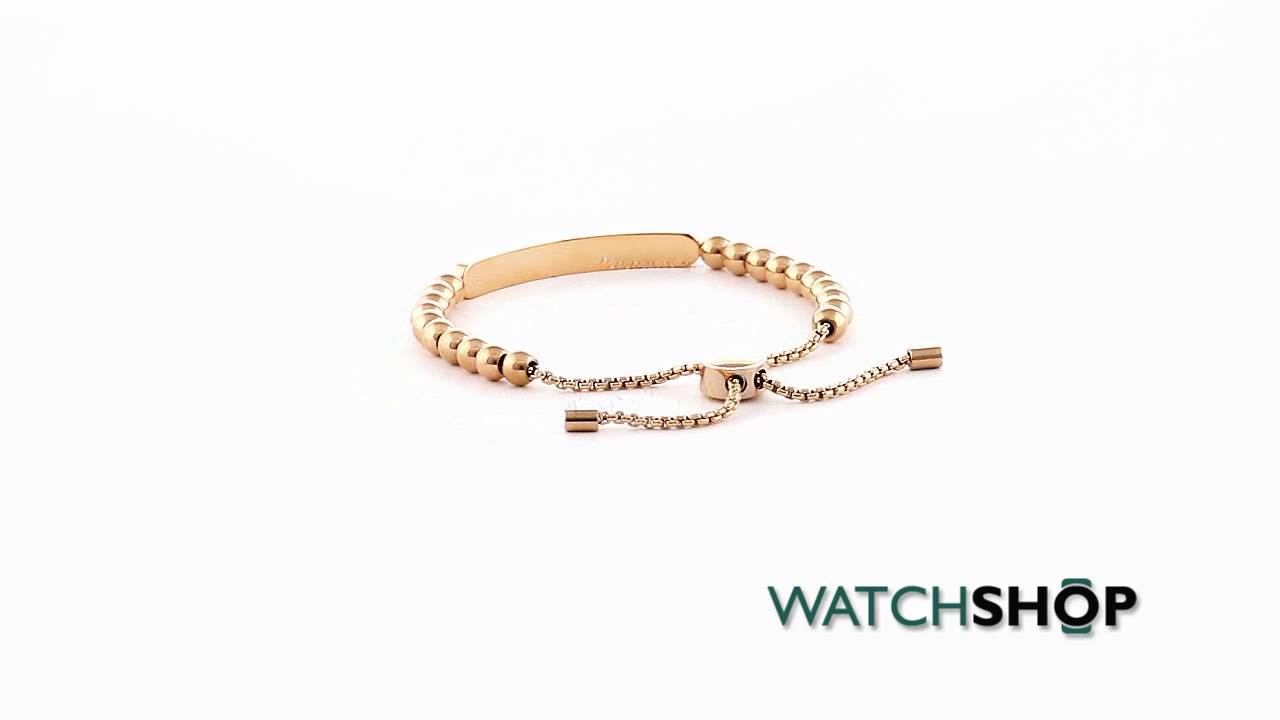a9d025fabe97 Michael Kors Jewellery Ladies' PVD Gold plated Heritage Bracelet  (MKJ5591791)