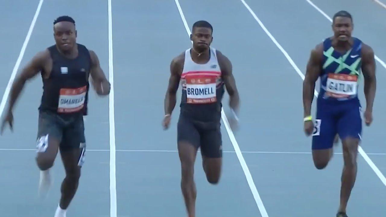 Download Trayvon Bromell 9.75 World Lead, Ferdinand Omanyala African Record 9.76!