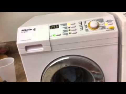miele washer with full load no power youtube. Black Bedroom Furniture Sets. Home Design Ideas