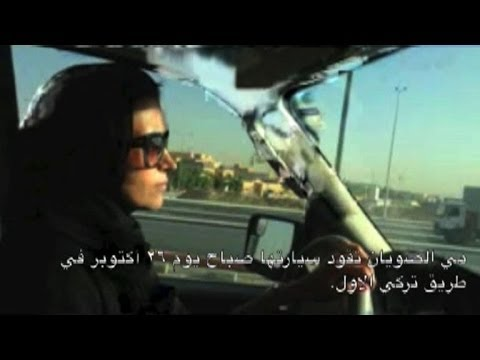 Saudi women get behind the wheel in defiance of ban