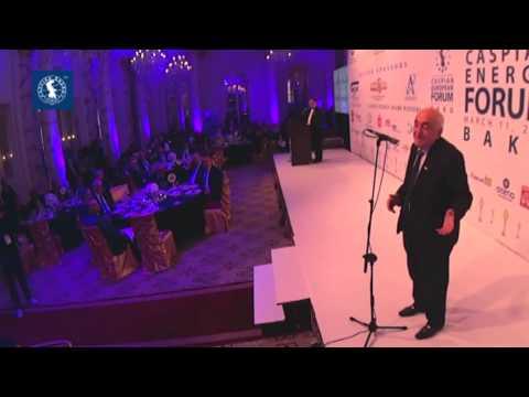 Akademik Xoşbəxt Yusifzadə - Caspian Energy Award 2015 Baku