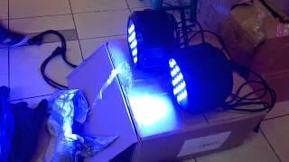 PAR LED RGB, Lampu Sorot Panggung, Lampu Studio, Lampu LED