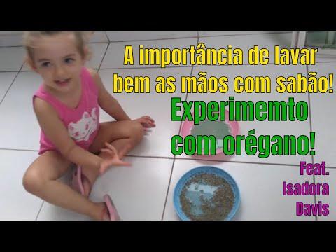 ISADORA Falando Sobre A Importancia De Lavar As Mãos