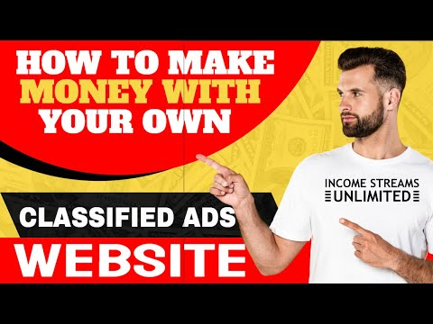 How To Make Money With Your Own Classified Ads Website   Step by Step Guide