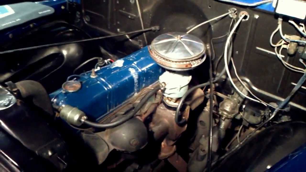 All Chevy chevy 216 engine : Chevy 216 - After TuneUp (Chevy 3100) - 2/11/2012 - YouTube