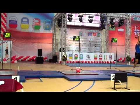 IKSFA   Belgorod 2012  Benidze   Khvostov , Champion of Europe