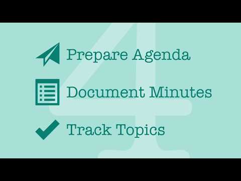 4Minitz Demo Screencast - Open Source Meeting Minutes (2.3)