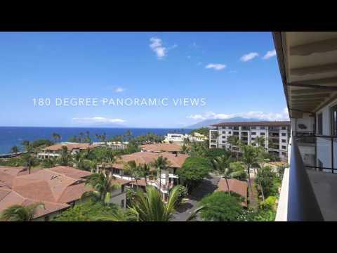 Wailea Beach Villas Penthouse 501   Wailea, Maui   MLS
