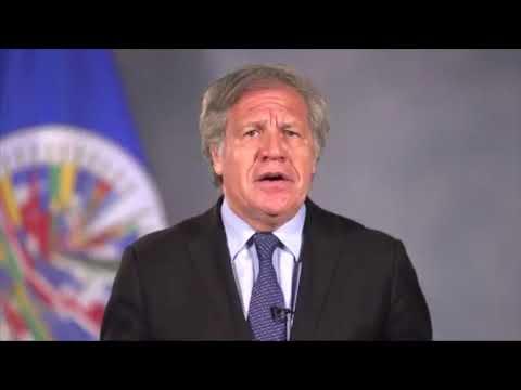 Secretario General de OEA envía mensaje a Nicaragua