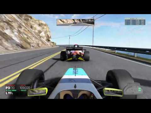 F1 street race project cars