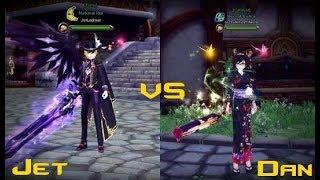 Aura Kingdom - Jet VS Dan ( PVP +30s )