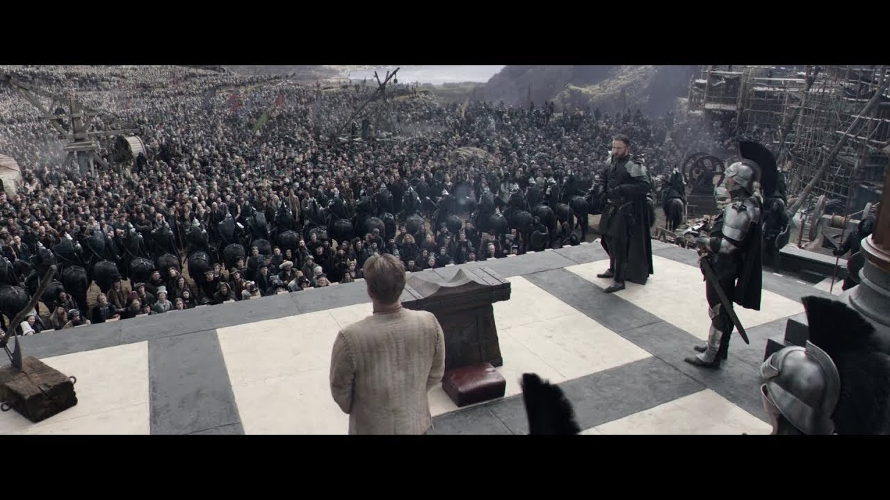 Download Movie   King Arthur - Legend of the Sword (2017)   Execution Scene