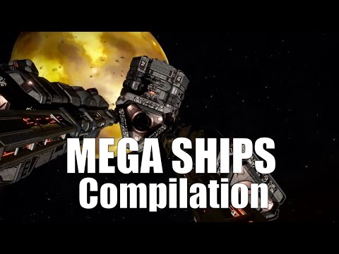 Elite Dangerous : Megaships compilation wilth logs and commentary *spoilers*