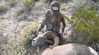 Desert Bighorn Sheep Hunt with Youth Hunter Ciara Jones