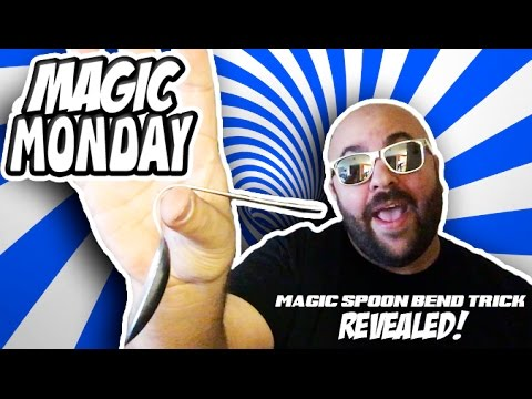 Magic Spoon Bend Trick REVEALED! - Magic Monday