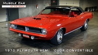 Muscle Car Of The Week Video #53: 1970 Plymouth 426 Hemi 'Cuda #1