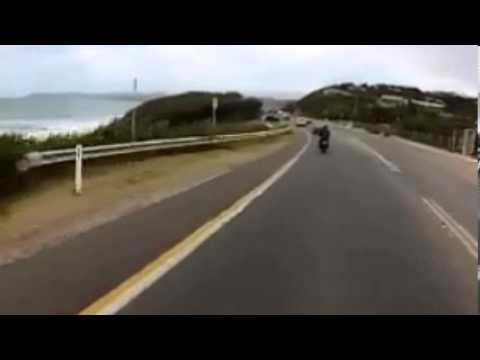 Great Ocean Road Helmet Cam