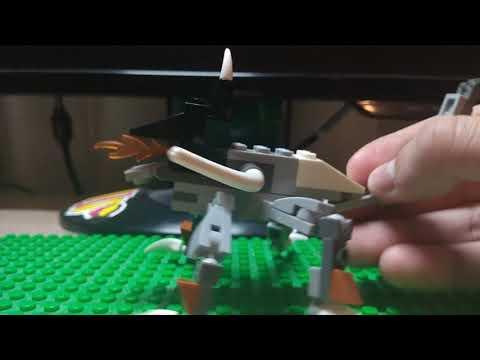 Лего Монстр , самоделка на тему - УЖАСЫ