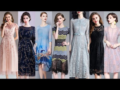 Latest & Stylish Designer Dresses For Girls || European And American Famous Women Dresses 2019. http://bit.ly/2GPkyb3
