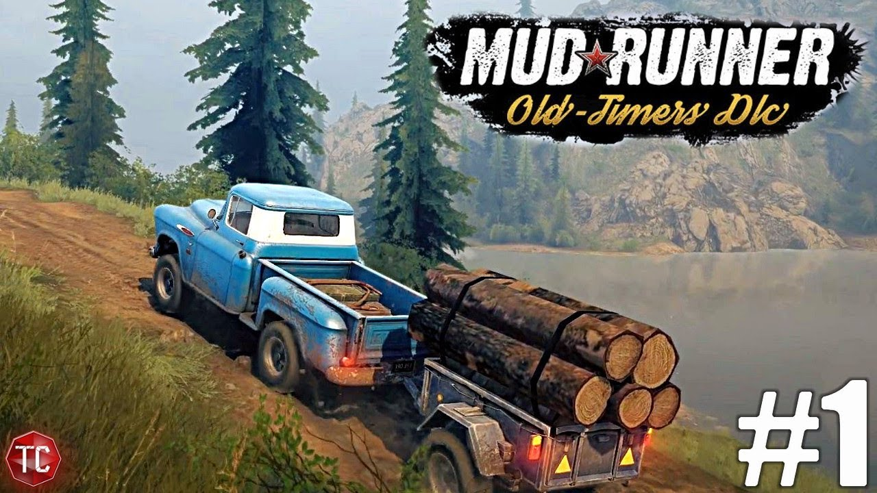 SpinTires MudRunner: NEW DLC! Old Timers part 1: Rocky Hills and New
