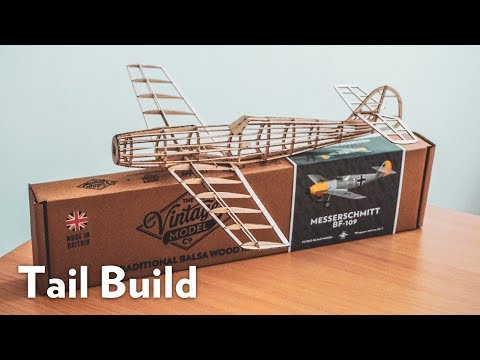 Making an Aircraft's Rudder and Elevator   Balsa Basics