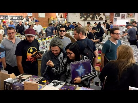 RECORD STORE DAY 2017 at Record Surplus, Los Angeles
