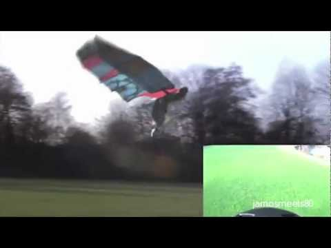 Man Takes Flight With Custom Built Bird Wings