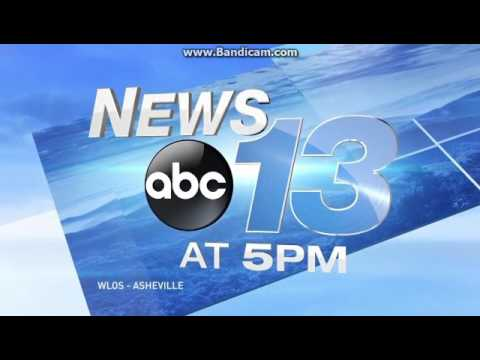 WLOS News 13 at 5pm open January 10, 2017