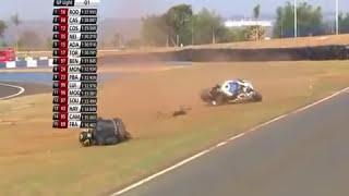 Acidente Moto 1000 GP, Autódromo de Goiânia, Imprudência Piloto, Moto Voadora