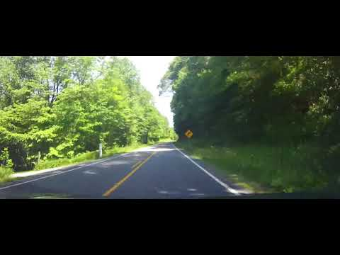 Driving on Entire Length of North Carolina Highway 183