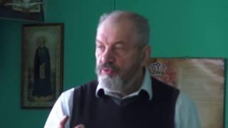 Урок правильного церковного чтения  с первым курсом Николо Угрешской семинарии