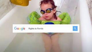 Google Flights: Simplest way to get splashing (Florida)
