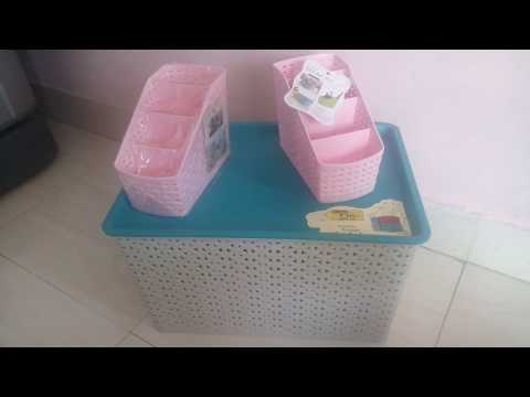 DMART Shopping haul | Multipurpose Plastic Storage boxes | Home Organization - Desktop/toys/table