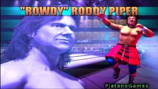 Showdown Legends of Wrestling - Full Opening Gameplay Intro - Over 70 Classic Wrestlers! - HD