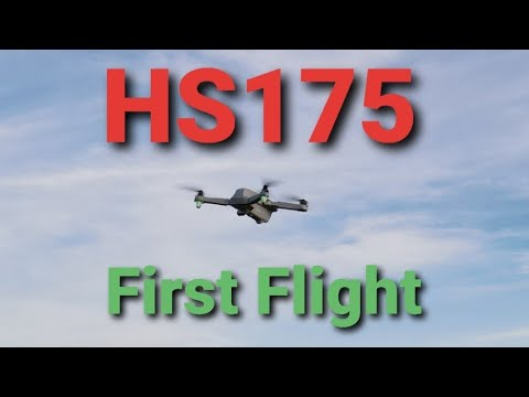 Holy Stone HS175 drone Maiden Flight ... LETS FLY!