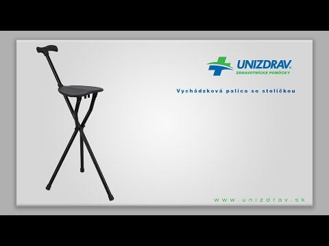 Vychádzková palica so stoličkou - VIDEOMANUÁL