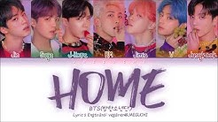 BTS () - HOME (Color Coded Lyrics Eng/Rom/Han/)