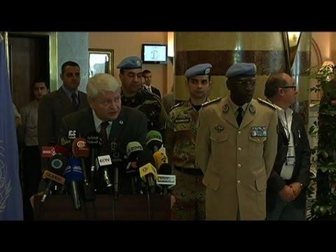 Half UN observer mission has quit Syria: UN official