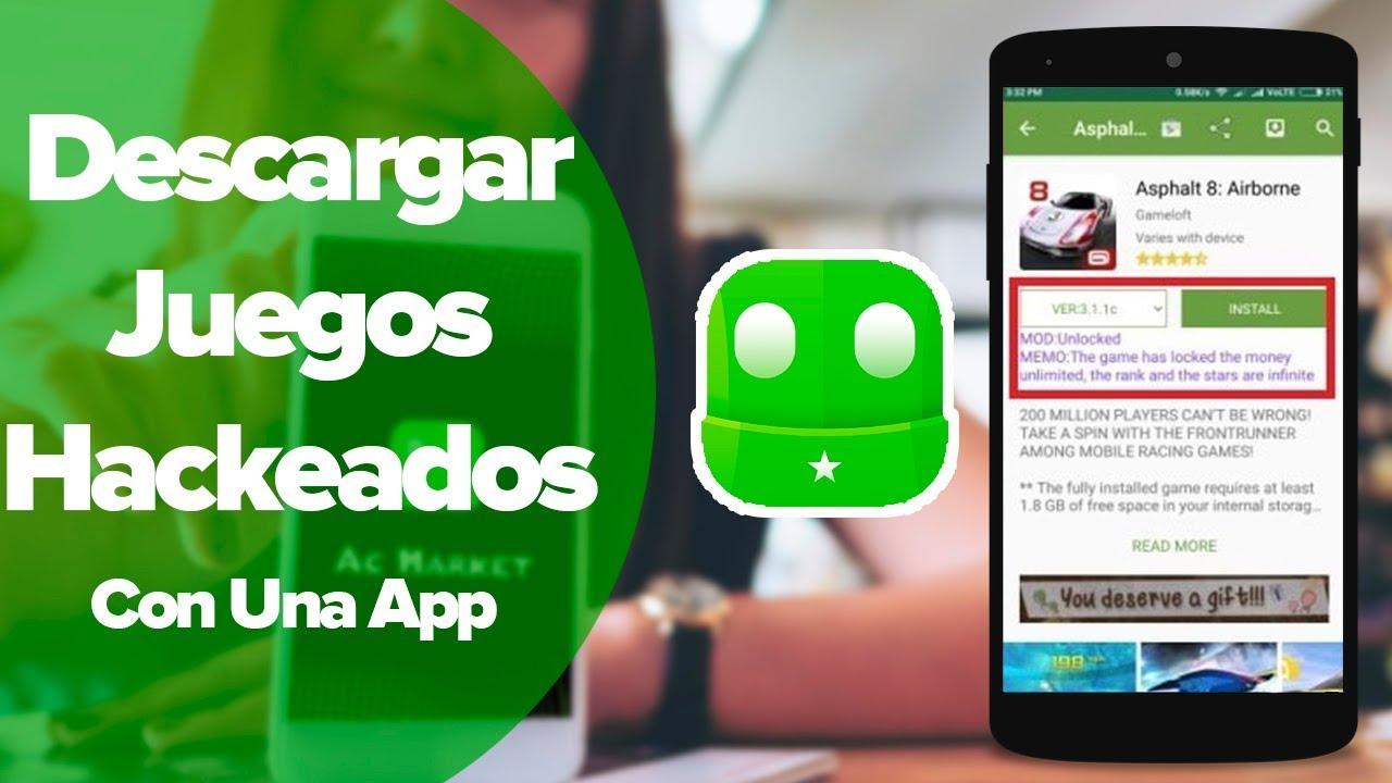 Descarga Aplicaciones Y Juegos Hackeados Con Esta Aplicación Android Youtube