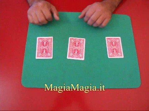 Il gioco delle 3 carte giochi di prestigio trucchi carte tre