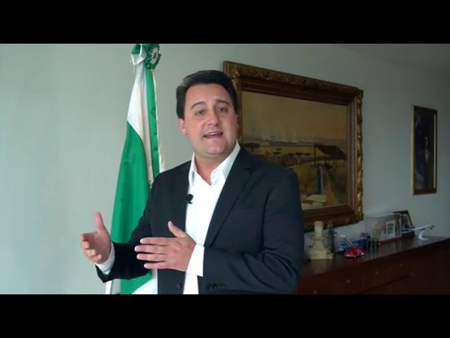 Pronunciamento do Governador Carlos Massa Ratinho Junior