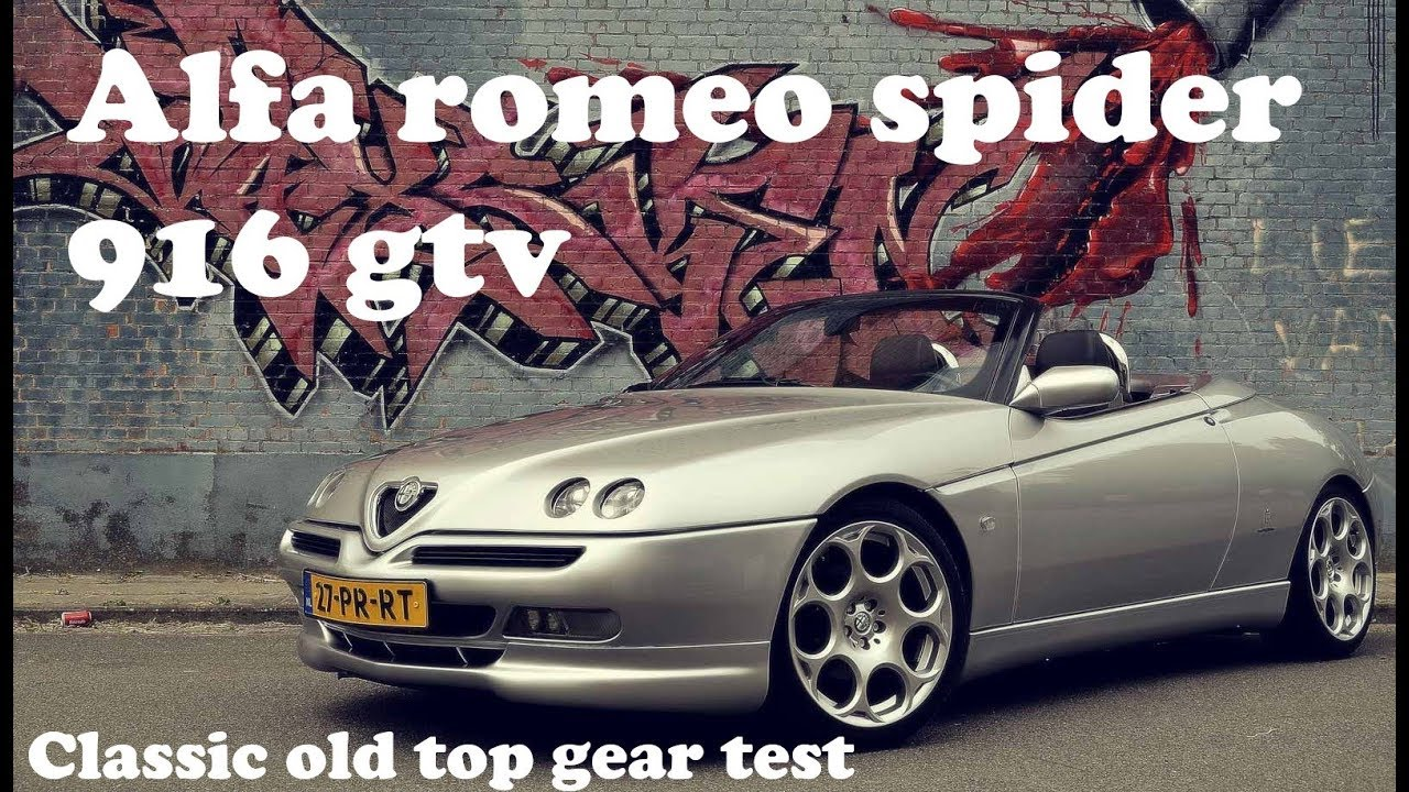 alfa romeo spider gtv 916 in old classic top gear do. Black Bedroom Furniture Sets. Home Design Ideas