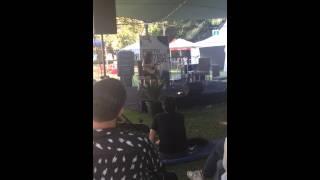 Rayya Elias singing at the Perth Writers' Festival - FEB 2015