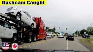 Ultimate North American Cars Driving Fails Compilation - 167 [Dash Cam Caught Video]