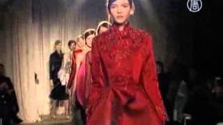 Неделя моды Mercedes-Benz: платья от Marchesa